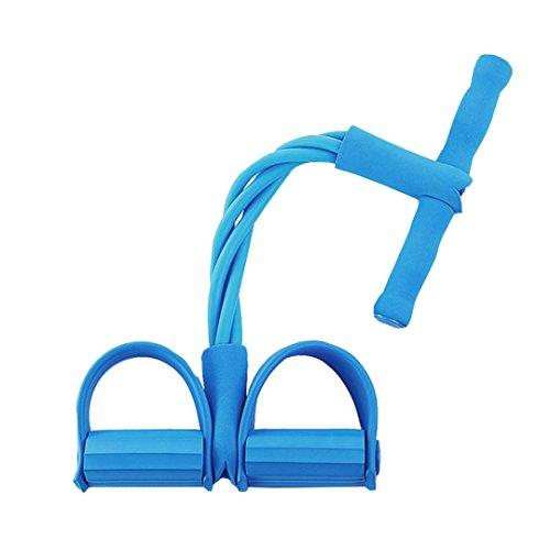 millya Sit-Up Pedaltrainer Gerät Sport Ausrüstung Gym Bauch trainner, Herren damen Mädchen, blau