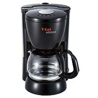 ティファール コーヒーメーカー 「アプレシア」 ペーパーレスフィルター ソリッドブラック CM111870