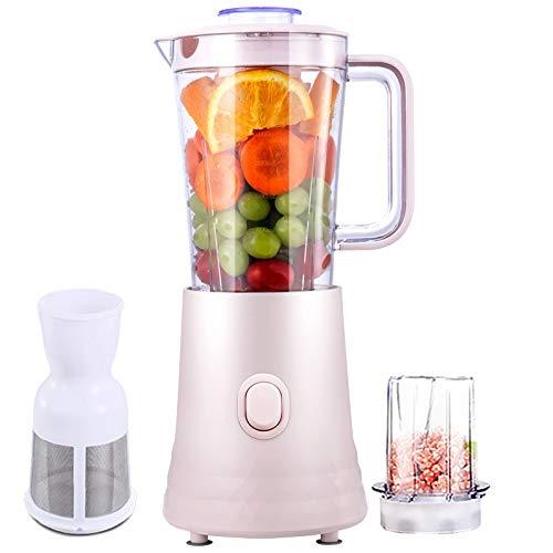 QHGao roermachine, automatisch, hoge snelheid, mixsysteem, ijsblokjesmachine met roestvrij stalen lemmet, 10 l, mixer 800 W, voor smoothie soep, enz.