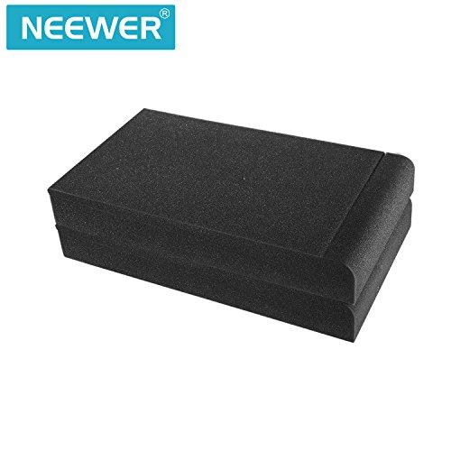 Neewer 2 Paquetes Almohadillas Aislamiento para Monitores de Estudio para Monitores 5