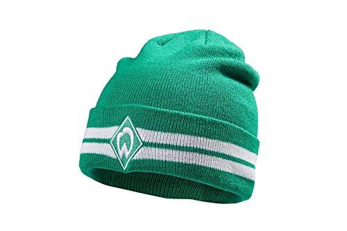 Werder Bremen SV Mütze/Strickmütze ** Raute grün **