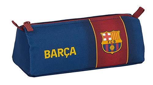 Safta - FC Barcelona Federmäppchen, Marineblau/Weinrot, Medium (M742)