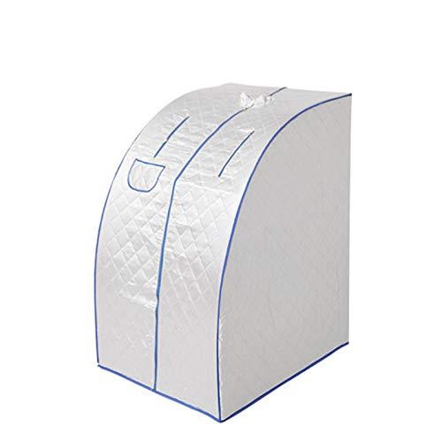 Tienda de sauna plegable para el hogar, caja de sauna personal portátil, se puede usar para el spa interior para perder peso, desintoxicar y relajarse, con bolsa, ahorrar espacio, con evaporador