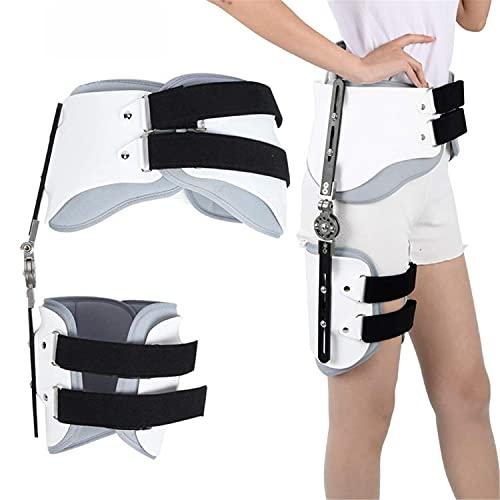 Ortesis de abducción de cadera, órtesis de abducción de cadera, rodilla, protector de soporte de tobillo para alivio del dolor de cadera, cintura, ingle, isquiotibiales, muslos y nervio ciátic