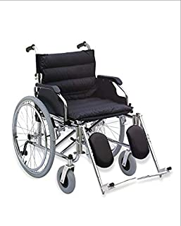 Media6 Wheelchair Folding with Detachable Elevating Footrest - 951AC-56