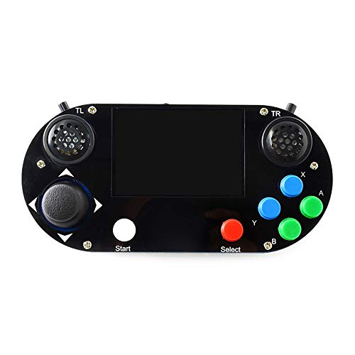 3D-printer 3 B + Plus / 3B / Zero W RetroPie spelpet Console Gamepad Met 480 X 320 3,5 inch IPS-scherm JFCUICAN (Color : Multi-colored, Size : B)