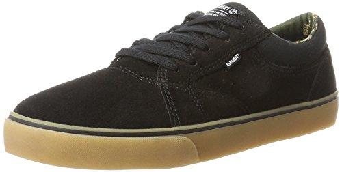 Element WASSO Black, Chaussures de Fitness pour l'extérieur. Homme, Noir Gum, 47 EU