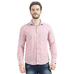 Monte Carlo Men Checked Pink Regular Fit Cotton Shirt 9 41giEG1tfNL. SL500 . SS300