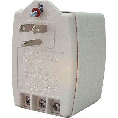 MG Electronics Class II AC Power Supply with PTC Auto Resettable Fuse (24 VAC, 40VA)