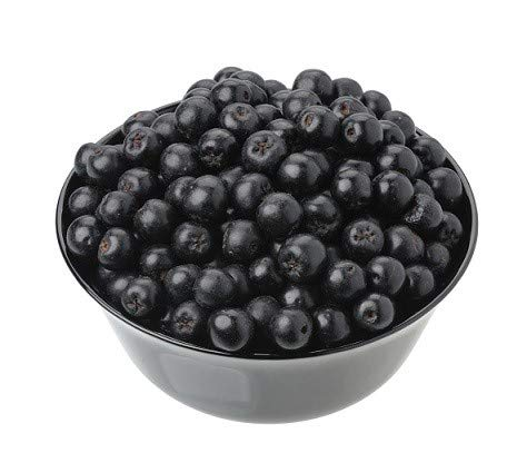Fresh Frozen Organic Aronia Berries by Northwest Wild Foods - Healthy Antioxidant Fruit Diet - for Smoothies, Pies, Jams, Syrups (9 Pounds)