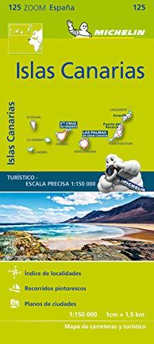 Michelin Islas Canarias: Straßen- und Tourismuskarte 1:150.000 (MICHELIN Zoomkarten)