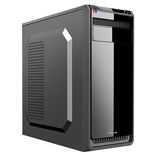 TALIUS Dakota Carcasa de Ordenador Full-Tower Negro 500 W - Caja de Ordenador (Full-Tower, PC, Acero, ATX, Negro, 22 cm)