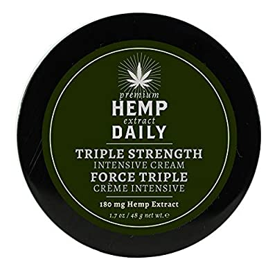 Hemp Daily Triple Strength Creme from HEMP DAILY