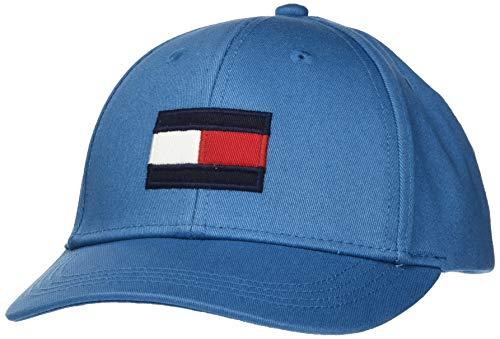 Tommy Hilfiger Big Flag Cap Gorra, Azul, X-Large (Talla del Fabricante:) para Bebés