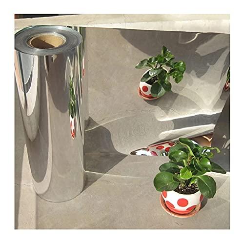 LSXIAO Planta Película Reflectante, Invernadero Sábanas De Cobertura, Jardín Grow Light Accesorios Pet De 0,12mm De Espesor para Jardinería, Árboles Frutales (Color : Silver, Size : 1.2x100m)