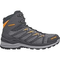 Lowa Men's Innox PRO MID Boots (Numeric_8_Point_5) Graphite/Orange
