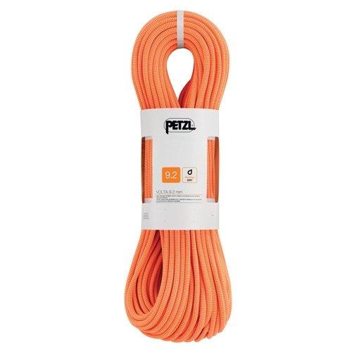 PETZL Erwachsene Verticality Einfachseil, orange, 30m