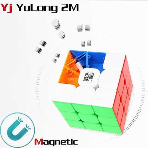 Cubo Mágico 3x3x3 Moyu Yulong V2 M Magnético Profissional