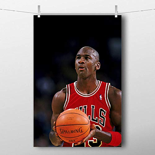 DHDHH Michael Jordan Basketball Sport Posters Canvas Prints Wall Art...