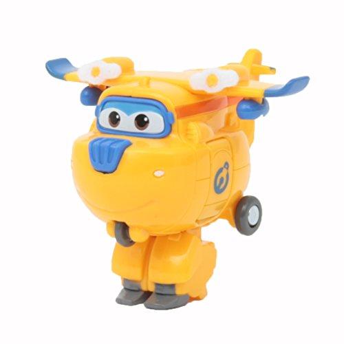 Giochi Preziosi Super Wings Veicolo, Robot trasformabile con Personaggio Donnie, UPW81100