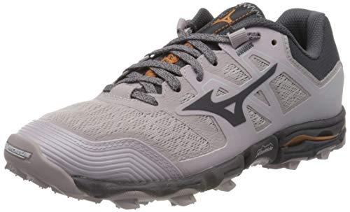 Mizuno Wave Hayate 6, Zapatillas de Running para Asfalto para Mujer, Gris (Cloudburst/Pscope/10135 C 36), 42 EU