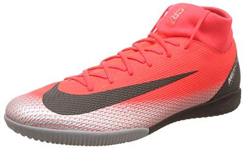 Nike Herren Superflyx 6 Academy Cr7 IC Fußballschuhe, Rot (Bright Crimson/Black-Chrome-Da 600), 46 EU