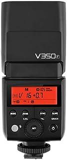 Godox V350F Speedlite For Fuji with Built In Battery, Black