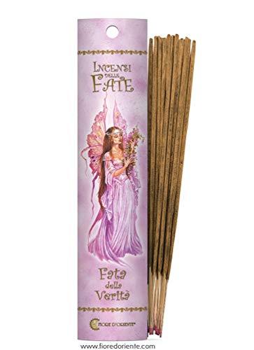 Fiore d 'oriente Vérité Fées d'encens, en Bambou, Multicolore, Lot DE 10
