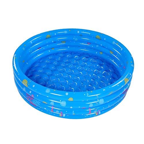 Sommer-Strand-Pool, Kinderspielzeug Pool Familie Baby Lounge Planschbecken Wasserpark Durchmesser: 130 / 150cm (Farbe: Blau, Größe: 130 cm) WTZ012 (Color : Blue, Size : 150cm)
