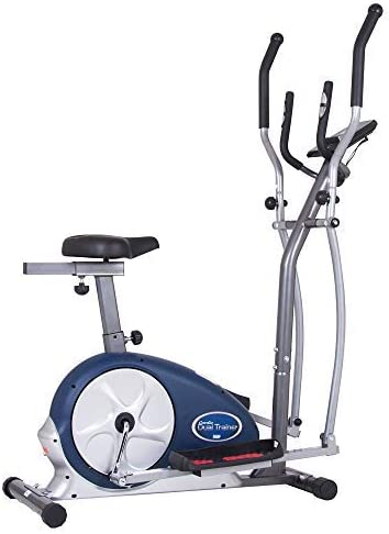Body Champ 2-in-1 Upright Exercise and w Bike Trainer Elliptical Max 68% OFF High order