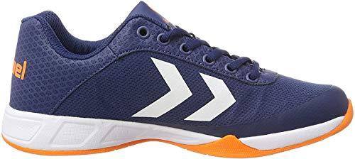 hummel Unisex-Erwachsene Root Play Trophy Multisport Indoor Schuhe, Blau (Poseidon 8616), 46 EU