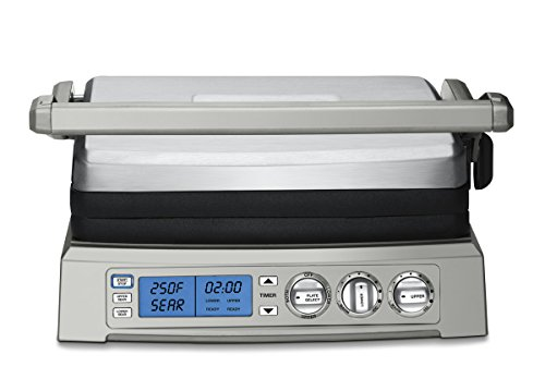 Best User Interface: Cuisinart GR-300WS Griddler Elite-Stainless