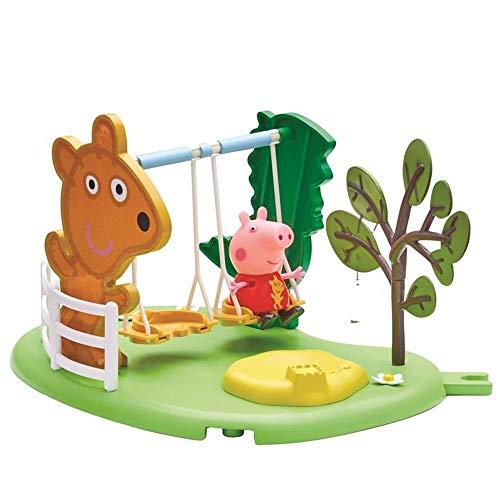 Peppa Pig Outdoor Columpio | Conjunto Juguetes Figura Peppa