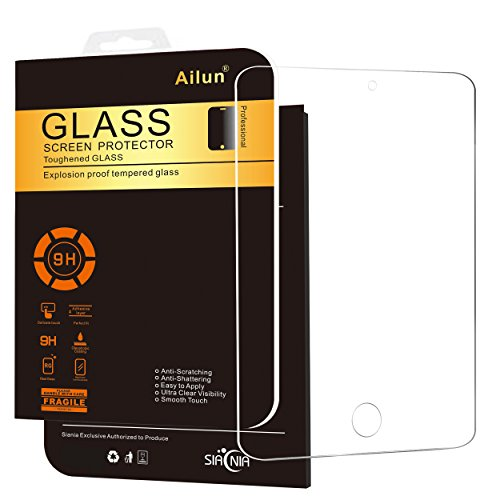 Ailun Screen Protector Compatible with iPad Mini 4 ipad Mini 5 2019 Tempered Glass 2.5D Edge...