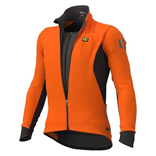 Alé Cycling Clima Protection 2.0 Course Combi DWR Veste imperméable pour homme Orange fluo Taille S 2020