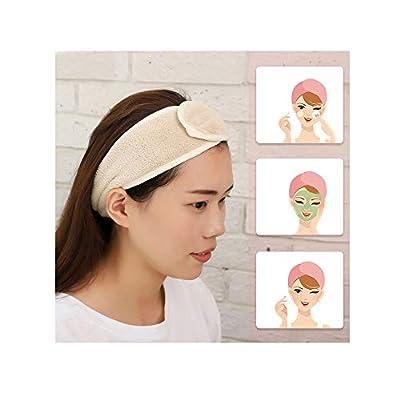 1/4 PCS Spa Facial Headband,Make Up Wrap Head T...