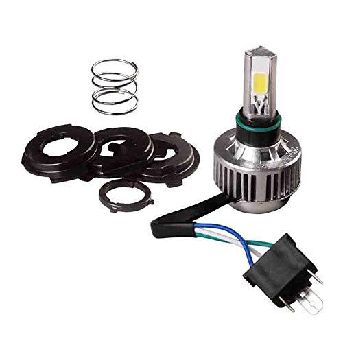 Ting Ao Plus élevée Universalisme 32 W Blanc 3sided LED Moto H4 Ampoule de Phare Hi/Low Lampe Ventilateur de Refroidissement d'alimentation