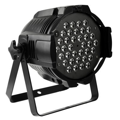 GoYisi PAR LED etapa luz, LED RGB-B07 PAR luz DMX512 Luz de escenario, 1W x LED, control maestro/esclavo/Auto Modo de ejecución 36