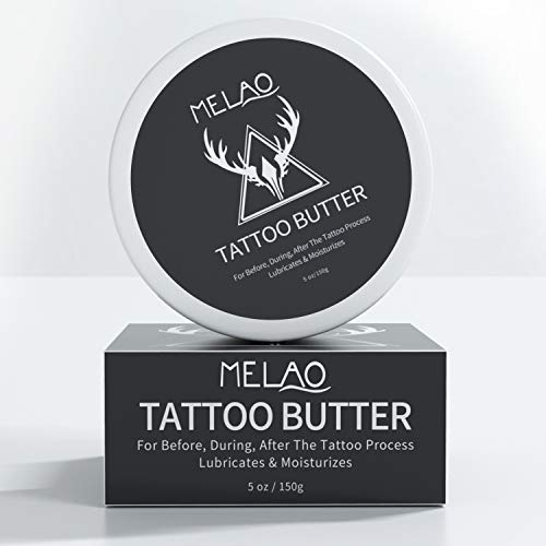 Tattoo Cream, Tattoo Aftercare Tattoo Butter for Before, During, After The Tattoo Process – 5 oz