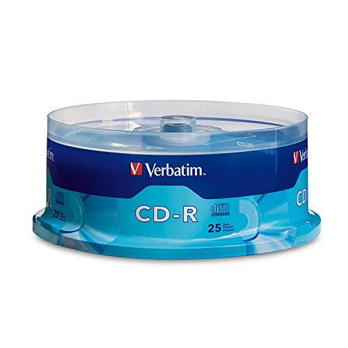 Verbatim Music CD-R 80min 52x Surface - 25pk Spindle
