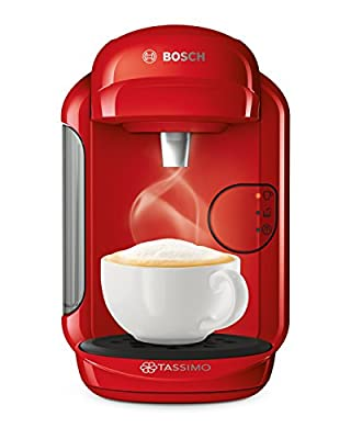 Tassimo Bosch TASSIMO Vivy 2 TAS1403GB Coffee Machine, 1300 Watt, 0.7 Litres - Red