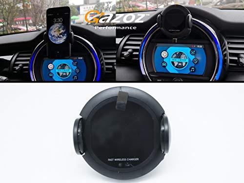 Gazoz Performance Infrared Sensing Fast Wireless Charger Phone Holder For Mini Cooper F55 F56 F57