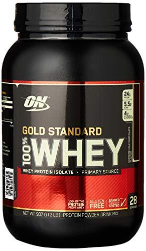Gold Standard 100% ホエイ プロテイン エクストリームミルクチョコレート 907g (2lbs) [米国メーカー正規品] [海外直送品]
