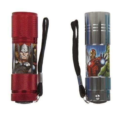 Kids Licensing Taschenlampe LED Superheld Spiderman Avengers sortierten