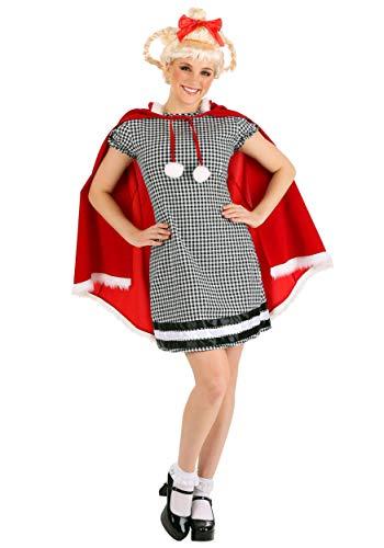 Disfraz de Navidad para mujer - Negro - XS