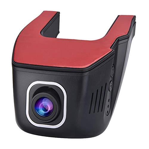 P Prettyia Cámara para Salpicadero, Cámara para Salpicadero WiFi, Cámara para Salpicadero Full HD 1080P, Gran Angular de 170 Grados