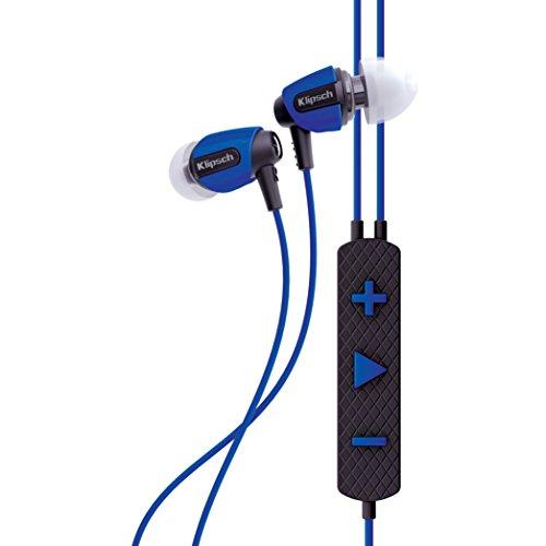 Klipsch AW-4i - Auriculares (Intraaural, Dentro de oído, 10-19000 Hz, 110 dB, 18 Ω, 8,5 mm), Color Azul