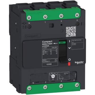 Schneider LV426129 - Interruptor NSXm 16kA TM160D 4P/4P Elink