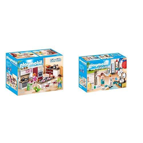 Playmobil 9269 - Große Familienküche &  9268 - Badezimmer