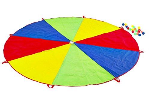 Garden Games - Juego del paracaídas del Arco Iris, 2.5 m diámetro (535)